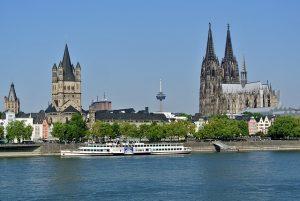 catedral de colonia imagenes vista desde el rio