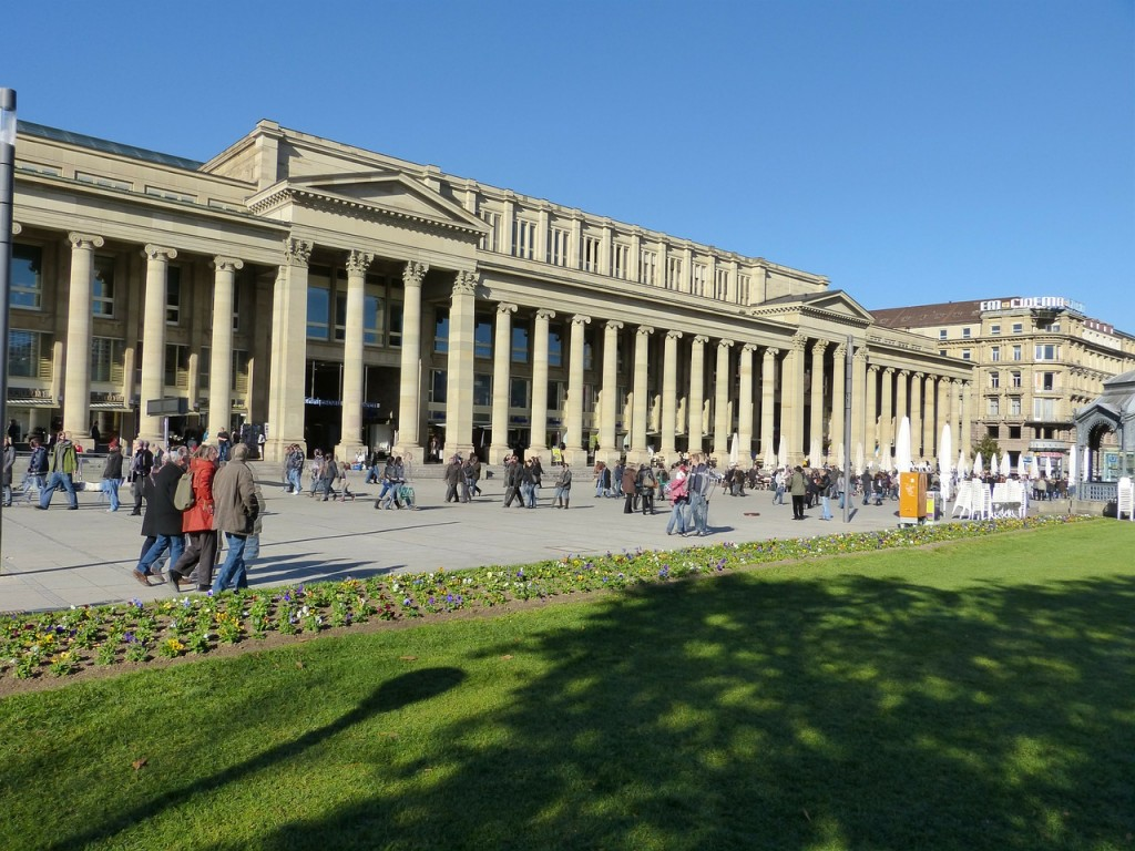imagen Stuttgart Plaza del Palacio