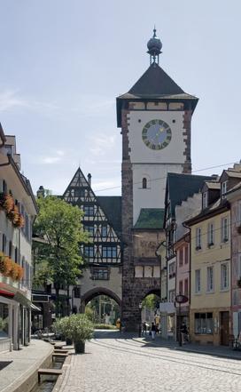 Imagenes de Friburgo: Bächle y Schwabentor