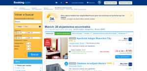 apartamentos vacacionales en munich con booking.es