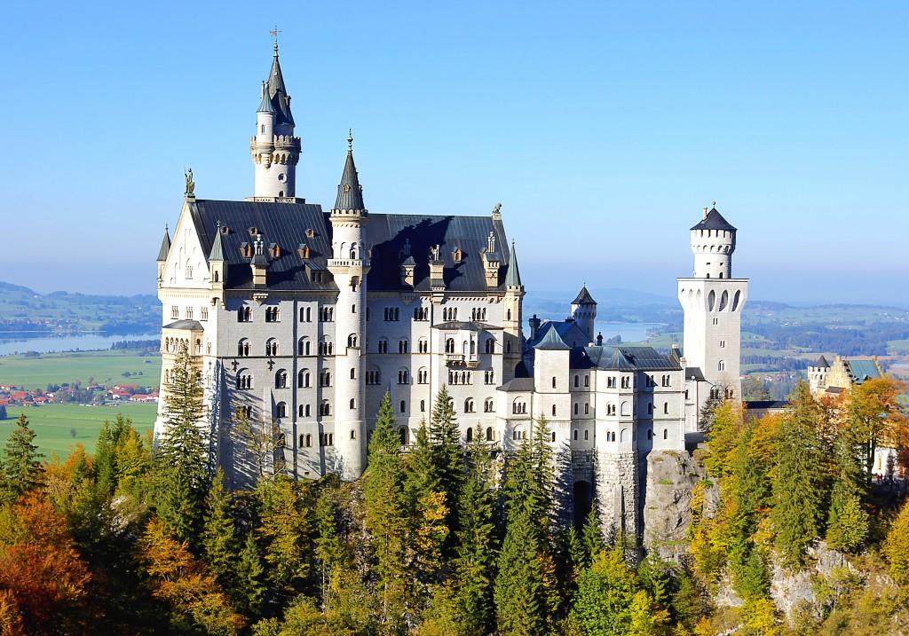 Imagen Castillo Neuschwanstein Alemania