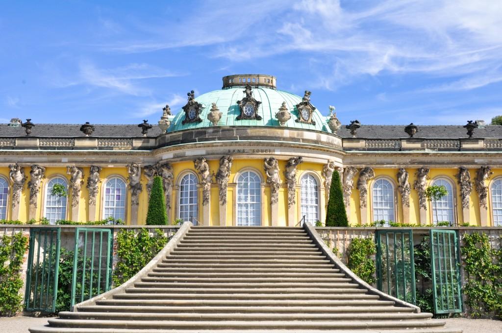 Imagen Palacio Sanssouci Potsdam Alemania