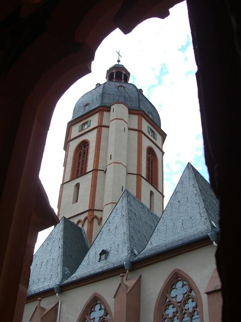 guia turistica de mainz - iglesia san esteban