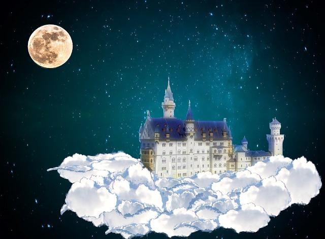 castillo de cuentos de hadas
