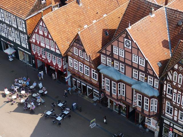 ciudades alemanas casco historico celle