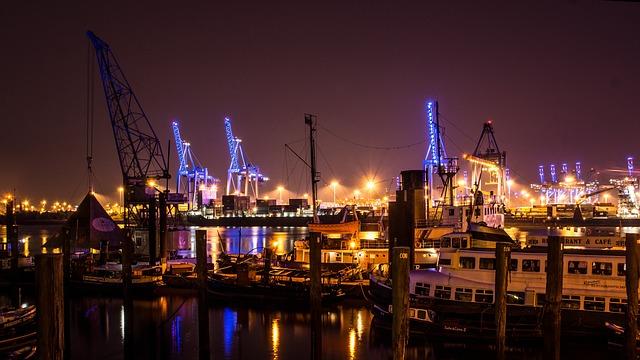 fotos de hamburgo el puerto
