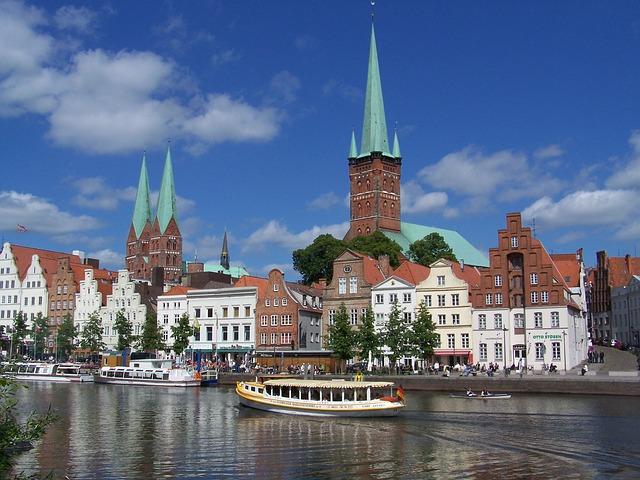 ciudades alemanas casco historico lubeck