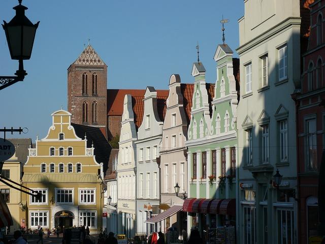 ciudades alemanas centro historico wismar