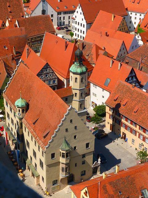 ciudades alemanas casco historico nordlingen