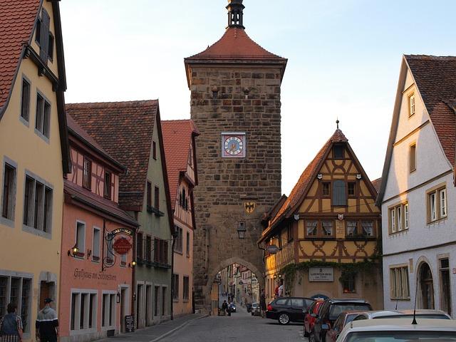 ciudades alemanas casco historico rothenburg