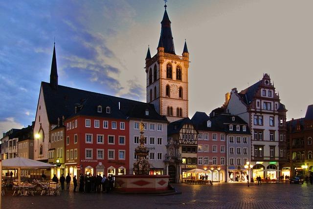 ciudades alemanas casco historico treveris