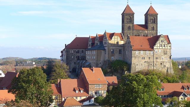 ciudades alemanas casco historico quedlinburg