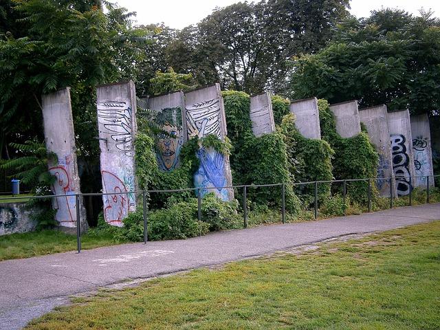 el muro de berlin vestigios