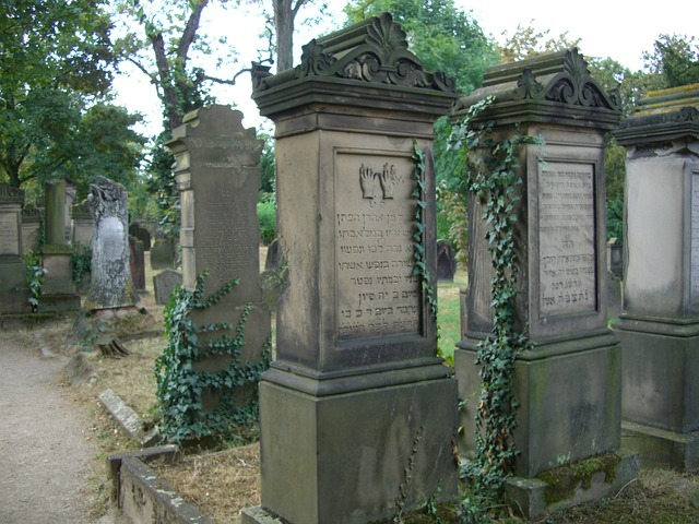 imagen cementerio judio worms